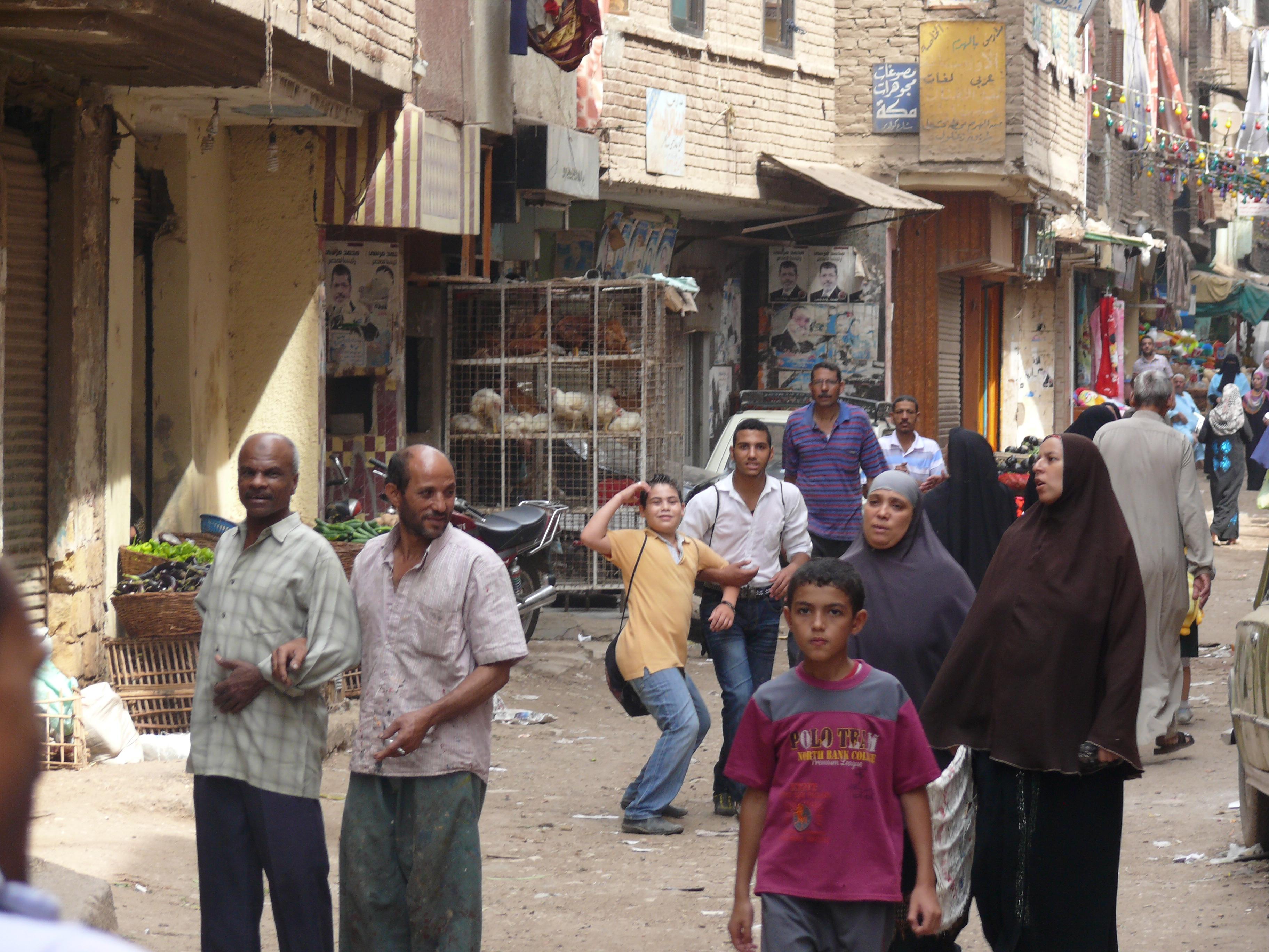 Market in Masaken Geziret El-Dahab