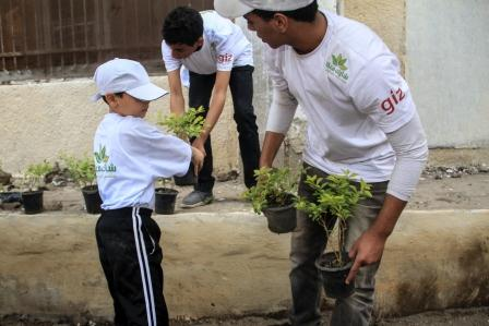 Making the school a greener place to learn